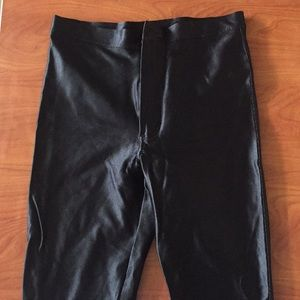 American Apparel Disco Pants - Black Size Large
